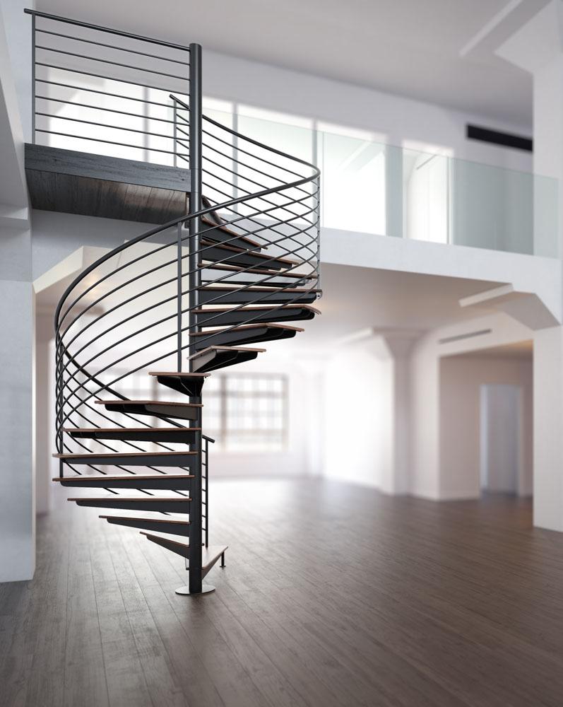 钢结构旋转楼梯多少钱?