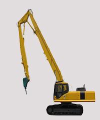 拆除设备-加长臂捣机