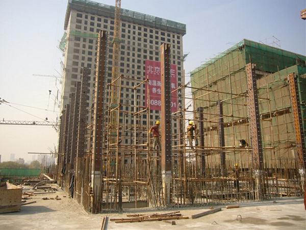 北京通州某高级会馆钢结构增层项目