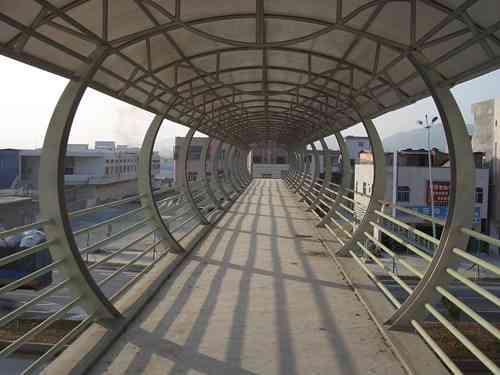 钢结构连廊(走廊、过道、天桥、楼间连廊)