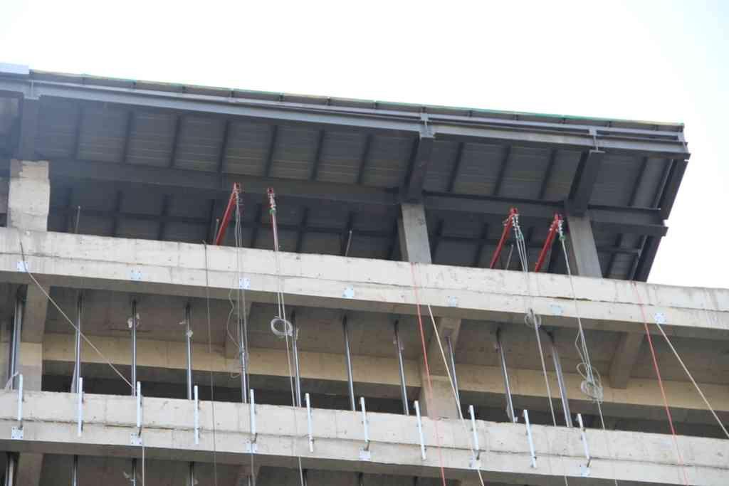 钢结构加层(屋面增层、加层、加建)