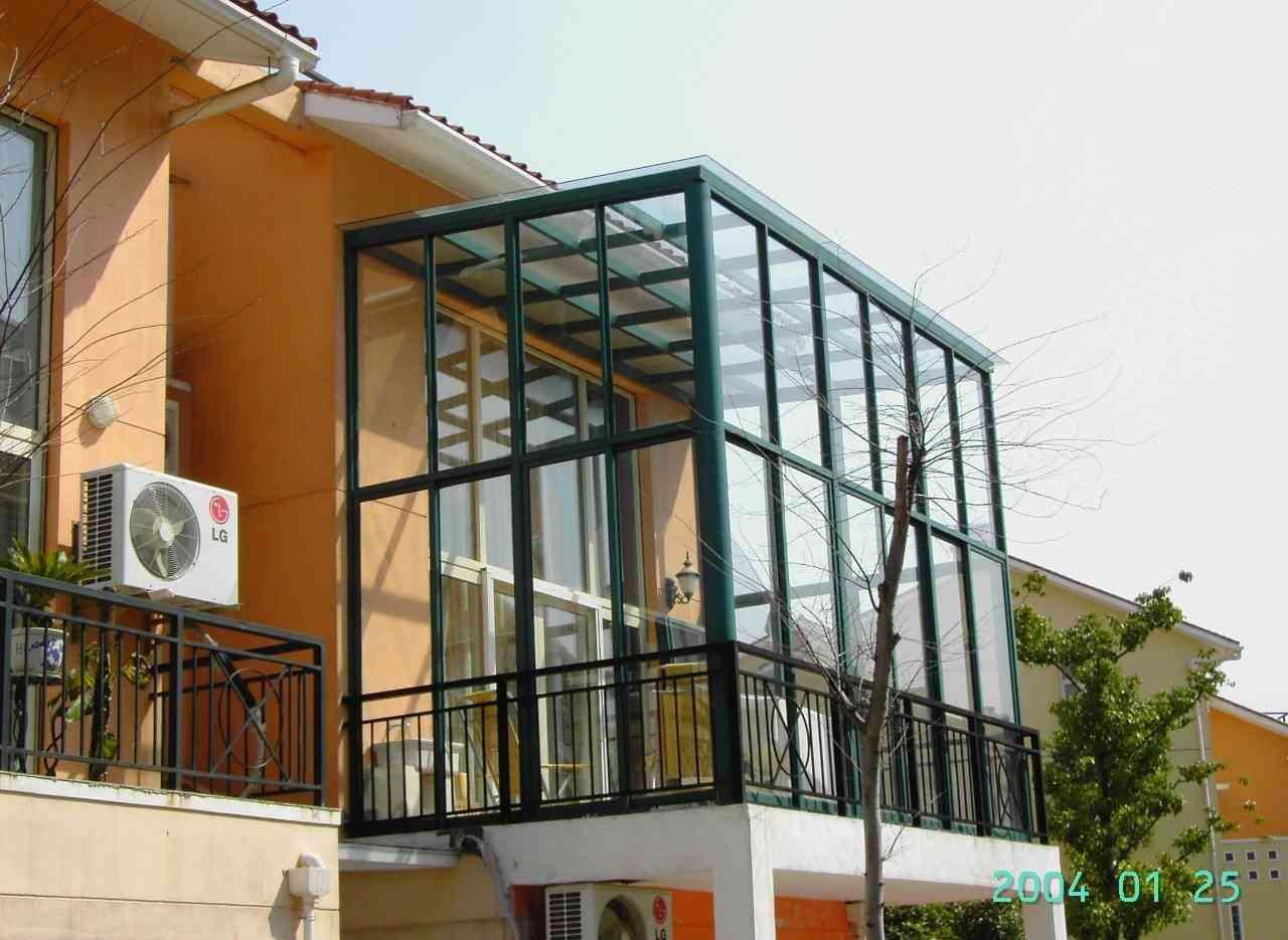 钢结构阳光房(玻璃房 阳光棚、遮雨玻璃房)