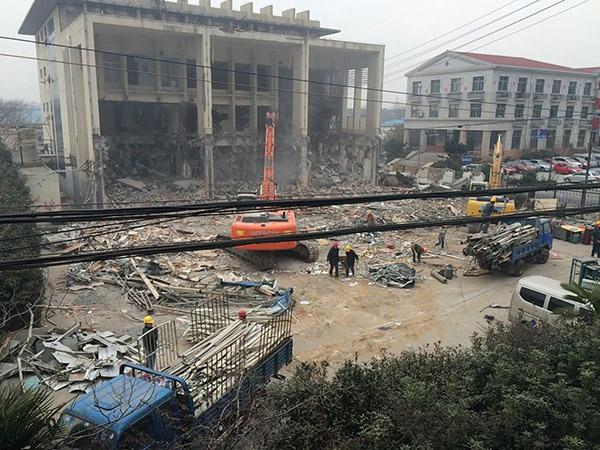 建筑楼房拆除