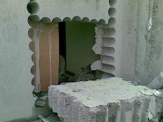 混凝土墙开洞静力切割方案