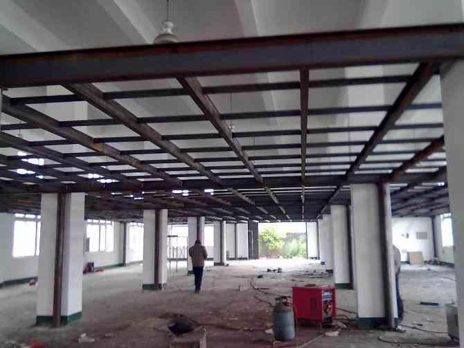 钢结构室内夹层方案